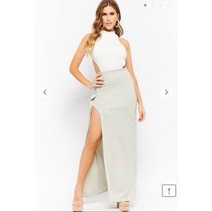 High Thigh Slit Maxi Dress